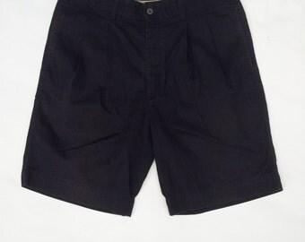 Vintage mens shorts / Mens navy blue shorts / Mens chino shorts / Mens DOCKERS Khakis  / Mens CARGO shorts