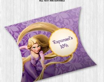Rapunzel Pillow Boxes