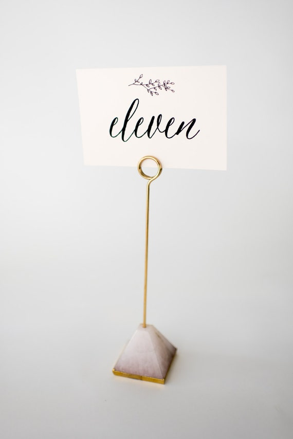 olivia table numbers (double-sided)  //  lola louie paperie