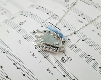 Sound of Music Charm Necklace