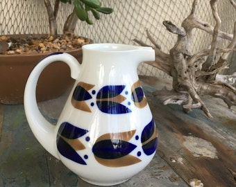 Sargadelos porcelain Spain creamer pitcher