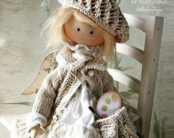 Textile collection doll angel.