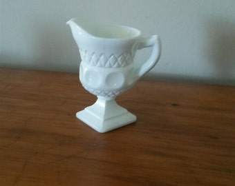 Milk Glass Creamer