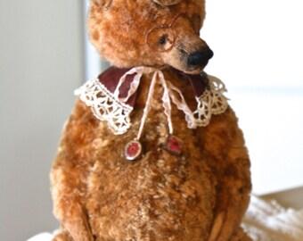 "NEW Artist teddy bear ""Matej ""  32 cm animals-stuffed- bear-interior toy-personalized teddy bear"