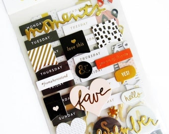 Project Life Everyday Edition Chipboard Stickers