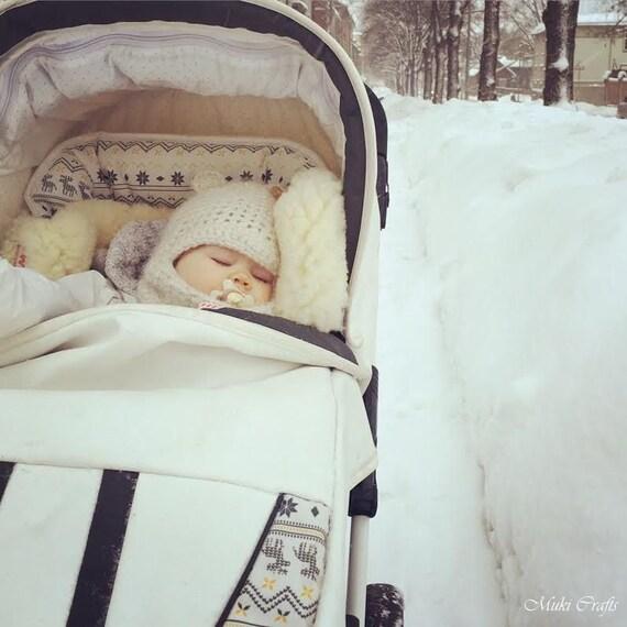 CROCHET PATTERN balaclava bear hat Jo with a brim (baby/toddler/child sizes)