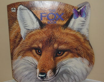 Vintage The Fox Book, a Golden Dhape Book by Jan Pfloog