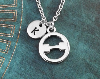 Theta Necklace SMALL Greek Letter Necklace Greek Alphabet Necklace College Jewelry Sorority Necklace Fraternity Jewelry Symbol Necklace