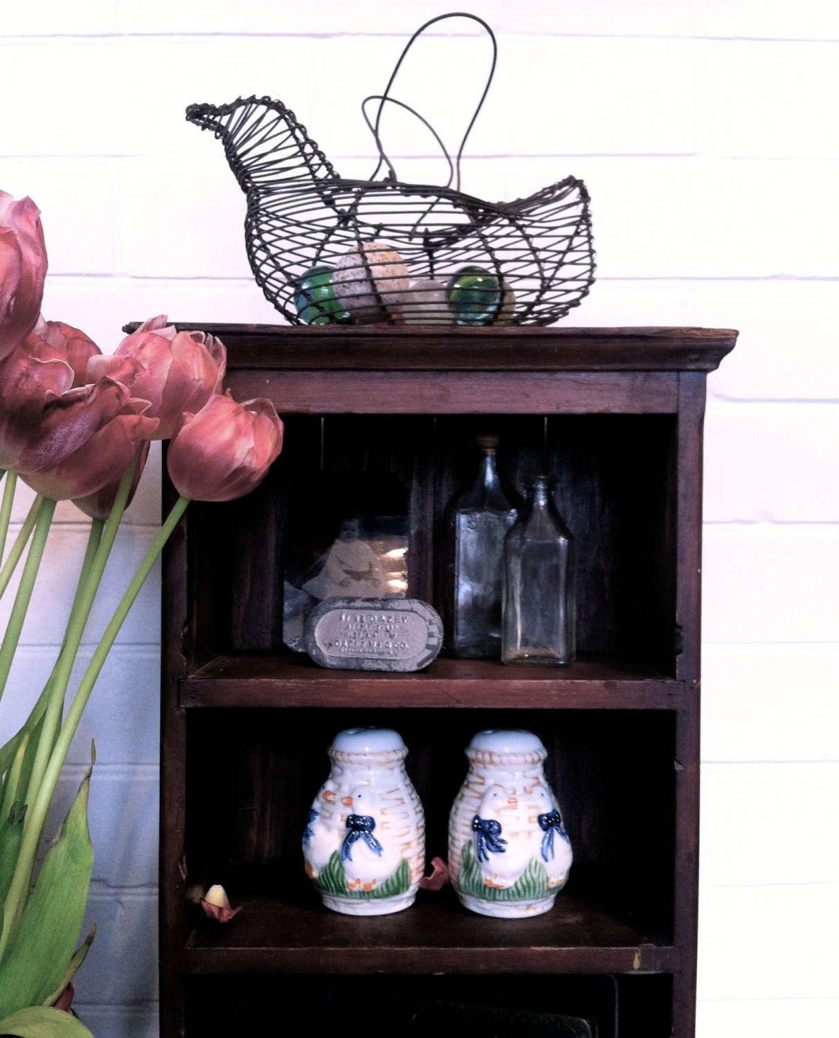 rustic home decor wire basket french country by 35 gorgeous diy wire crafts totally the bomb com