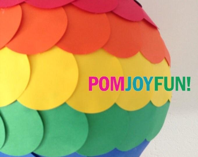 Rainbow Piñata, Custom Birthday Pinata,  Party Pinata, Pride Pinata, Wedding Pinata, Unicorn Pinata