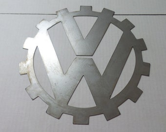 VW Metal logo Sign  Before WW11      V1