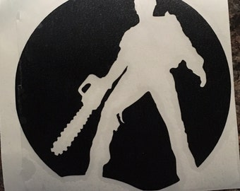 Evil Dead - Army of Darkness - Ash Williams - Vinyl Decal - Sticker - Groovy
