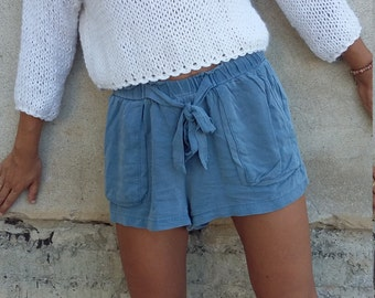 Knit cropped sweater crop top sweater knit pullover Off white sweater Knit women Sweater handknit