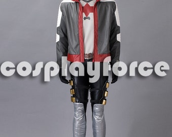 Batman:Arkham Knight Red Hood Jason Todd Cosplay Costume mp003300