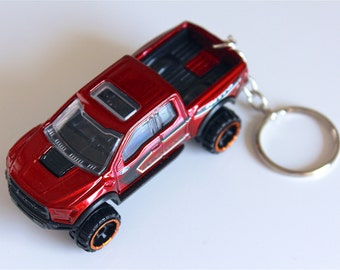 2017 Ford Raptor - Hot Wheels Die cast on Key Chain