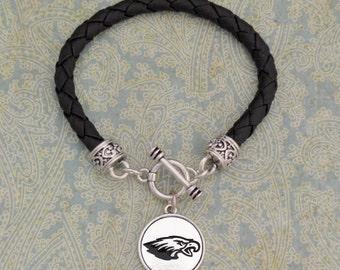 Eagle Leather Toggle Bracelet