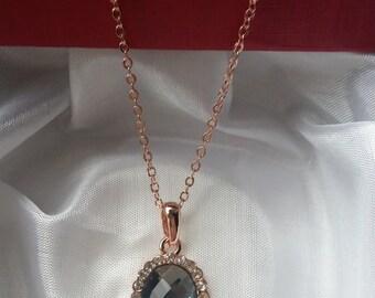 Collier 925 Silber/rosévergoldet