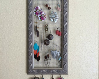 Earring Organizer - Necklace Organizer - Jewelry Organizer - Accessory Organizer - Jewelry Storage - Necklace Storage - Earring Storage
