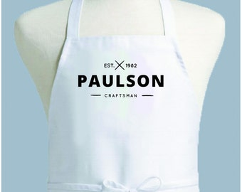 Custom Apron, Personalized Apron, Womens Apron, Mens Apron, Apron Men, Chef Apron, Apron woman, kitchen apron, monogrammed apron, apron