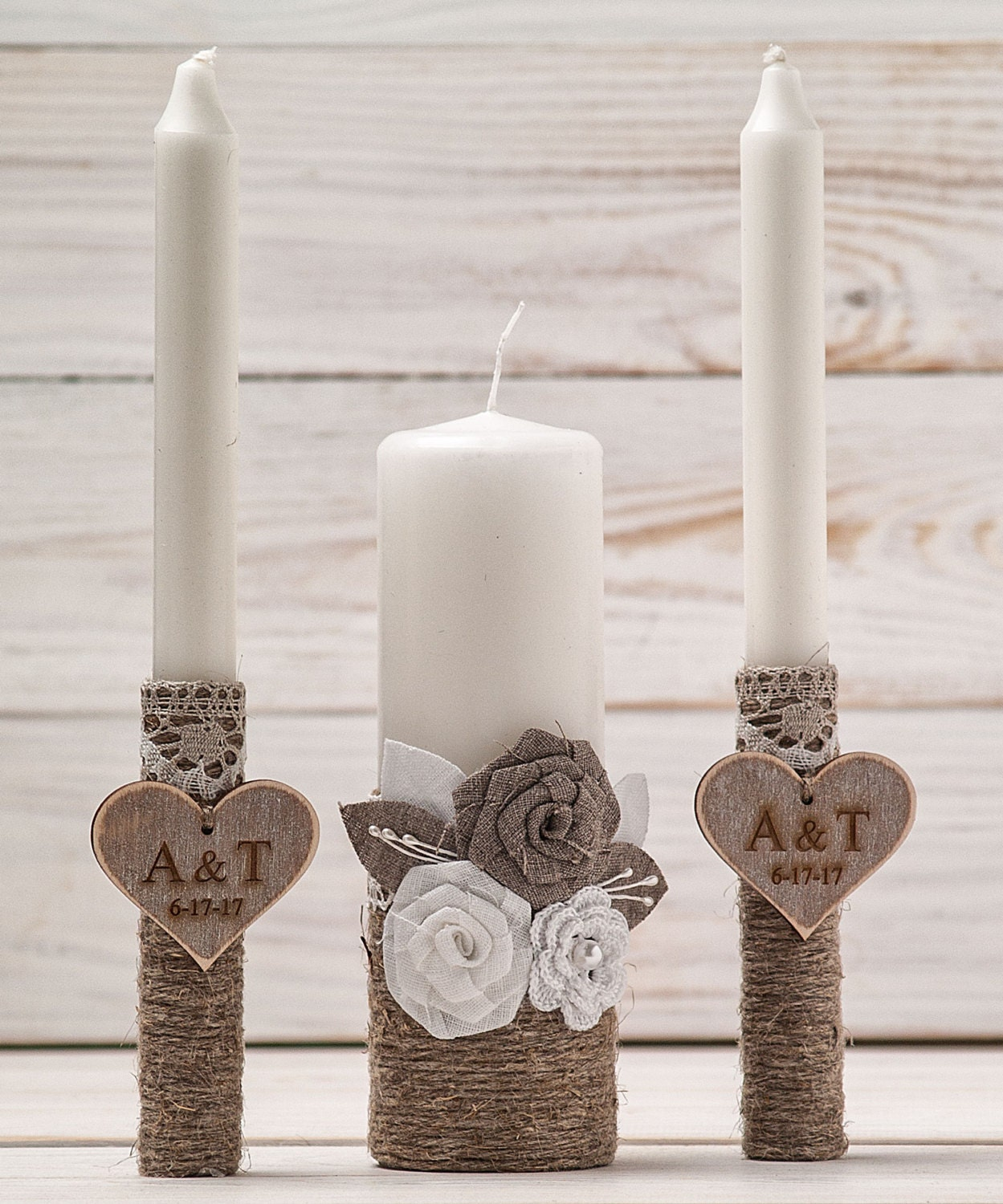 Wedding Candles: Monogram Unity Candles Wedding Unity Candle Ceremony
