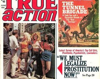 True Action Magazine   1971   Passion Cult  Sex Labs  Legalize Prostitution  Blood-Crazed Tapirs  Poker  Rio Grande Mafia   Swingers  mature