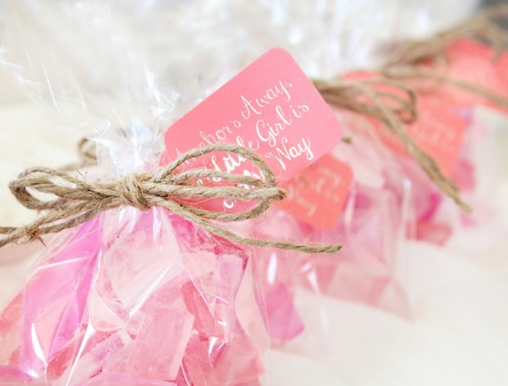 beach baby shower favors pink baby shower favors it 39 s a girl sea