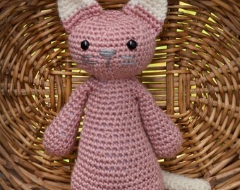 Crochet Cat Pattern - The Gumdrop Collection