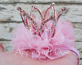 Baby crown headband/Birthday Baby Crown Headband/Princess glitter crown/Tiara crown/Party crown/1st birthday headband,tiara headband