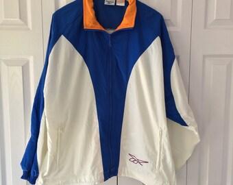 90s Reebok Windbreaker Jacket Medium