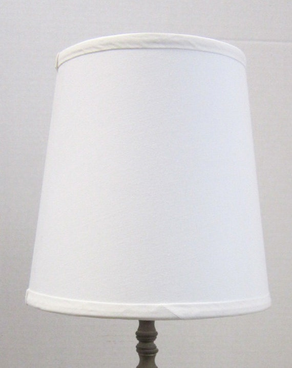 white small drum table lamp shade perfect for decorating small. Black Bedroom Furniture Sets. Home Design Ideas