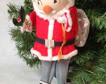 Vintage Paper Mache Santa