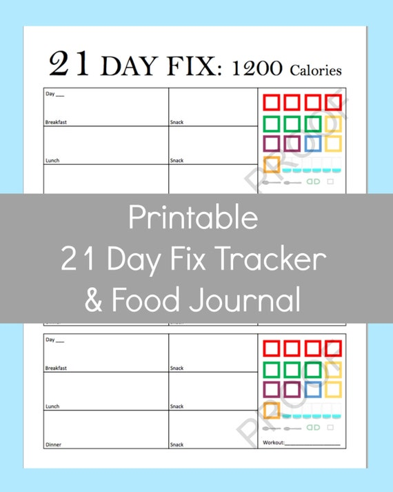 Versatile image inside printable 21 day fix