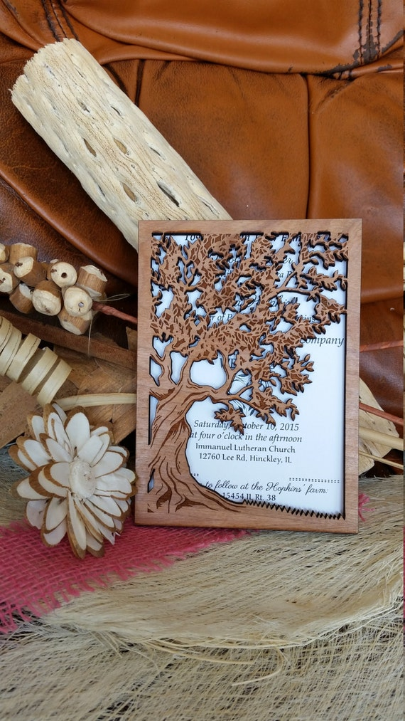 wood wedding invitations wooden wedding invitation suite rustic wedding invitations 1480