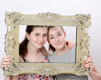 Long Lasting POSING FRAME  Medium Raphael Gilded Mirror Style Photo Prop 014-113 65cm x 48cm
