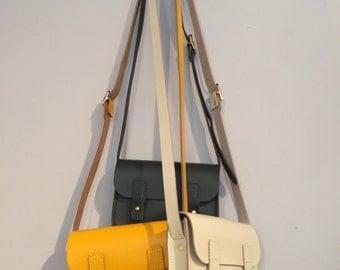 Handmade Leather Small Shoulder Bag