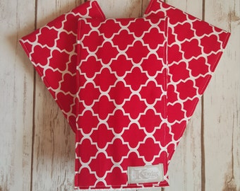 Burp Cloths, Baby Burp Cloths, Red Baby Girl Burp Cloths, Red Burp Cloths, Boy Burp Cloths, Girl Burp Cloths, Baby Shower Gift