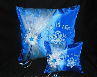 Snowflake Magic Pillow Set