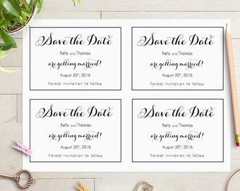 postcard save the date template 6x4 printable save the date
