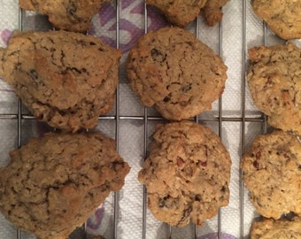 Oatmeal Raisin Goodness with Pecans or Walnuts or No Nuts