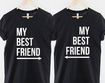 best friend shirts etsy. Black Bedroom Furniture Sets. Home Design Ideas