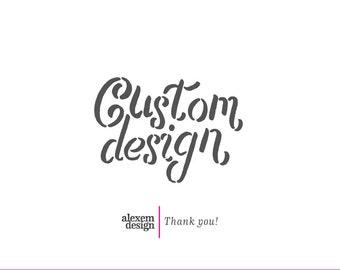 Custom Wedding Invitation with RSVP | 5 x 7 (A7) | Digital or Printed