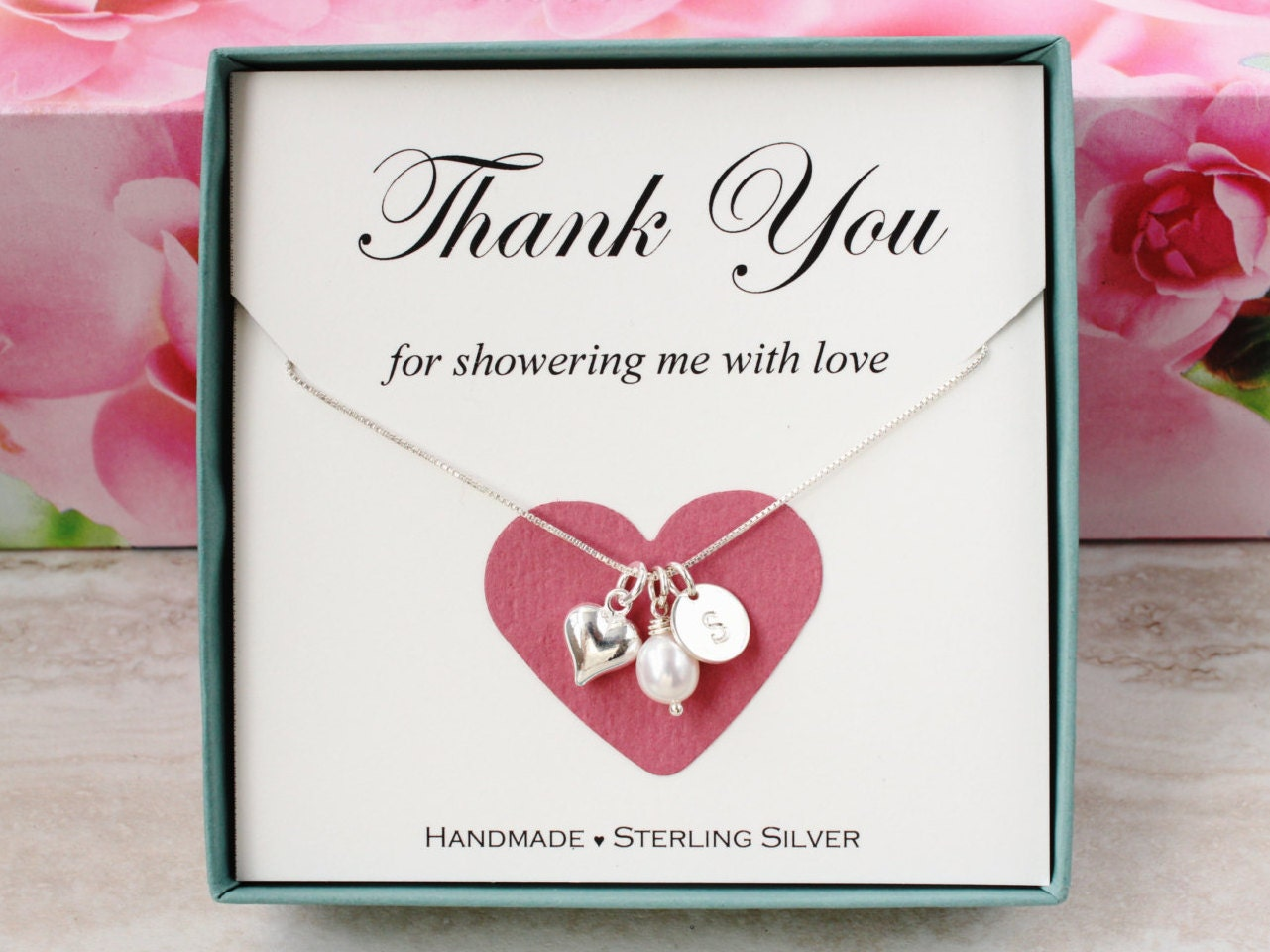 Baby Shower Hostess Thank You ~ Bridal shower hostess gift for baby thank you