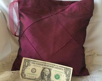 Money Dance Bag/Dollar Dance Bag/Sangria/Iridescent