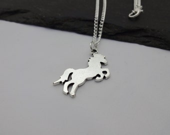 Horse Necklace, Horse Gift, Horse Jewellery, Chain Necklace, Charm Necklace, Gift For Her, Equestrian, Horse Riding, Horse Charm
