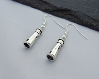 Lighthouse Earrings, Charm Earrings, Lighthouse Jewellery, Jewelry, Lighthouse Gift, Light House, Lighthouse Gifts, Nautical, Sea, Ocean