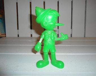 Pinocchio, Walt Disney, Marx Toys, Vintage Disney Toy, 1970's Toy, 1970's Marx Toy, Disney, Mickey Mouse, Vintage, Marx, Disney Figure, Doll