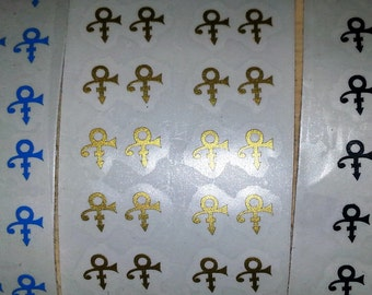 Prince Rogers Nelson Symbol Vinyl nail decals Prince nail decal set Purple Rain nail art stickers Memory nail vinyl nail Decal Art Set