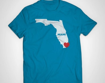Miami Love American Apparel T-Shirt