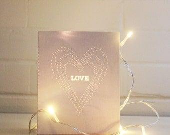 Lunchbag Lights: LOVE