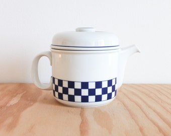 Thomas Germany Checkered Scandic Line Teapot